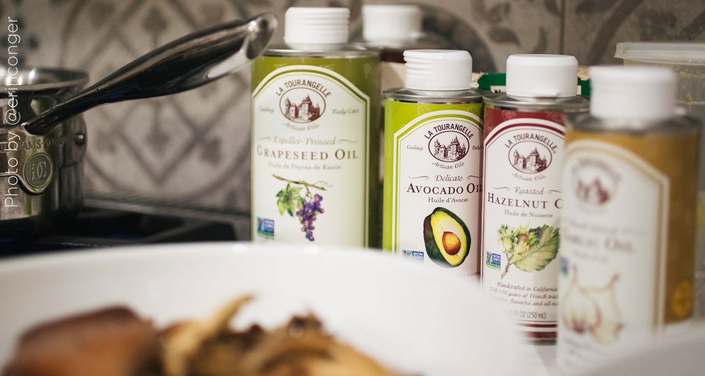 4 Oils to Try on Your Next Organic Salad