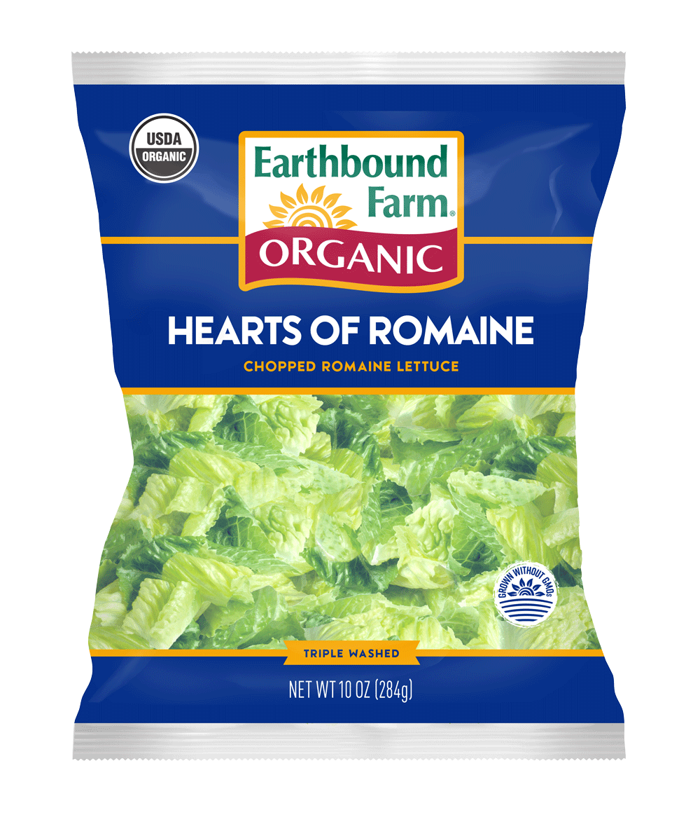 Organic Hearts of Romaine